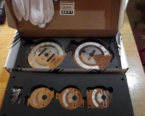 Instrument dial face set, s/s, Mazda MX-5 mk1, 120mph, JASS Performance